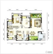 圣城华府4室2厅0卫0平方米户型图