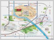 鲁能优山美地D区交通图