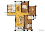 步阳御江金都3室2厅2卫0平方米户型图