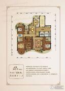 金昌香湖郡4室2厅3卫216平方米户型图