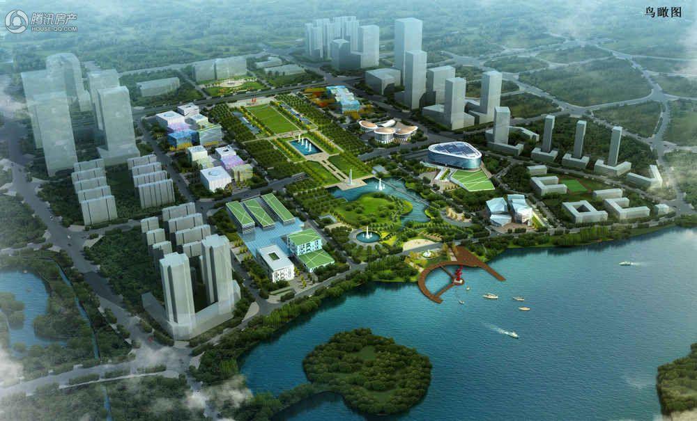怡和·湖城大境配套-日月广场效果图
