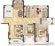 冠景瑞园3室2厅2卫118平方米户型图