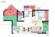 城市空间3室2厅1卫0平方米户型图