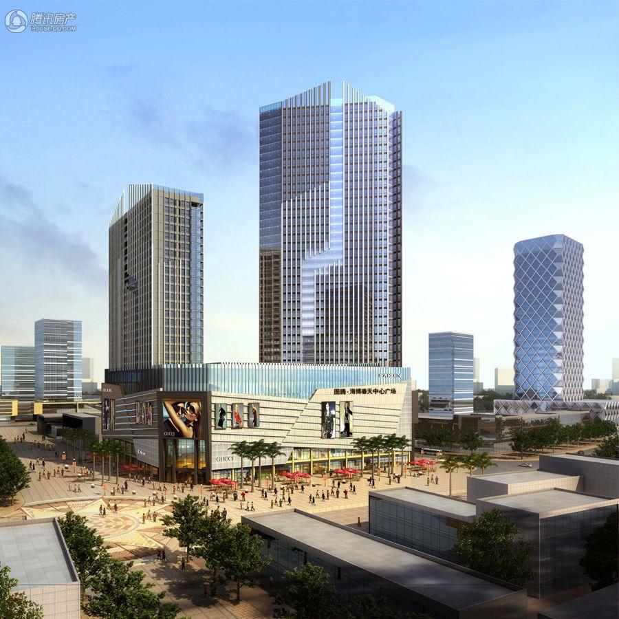 图腾·海博春天中心广场项目效果图