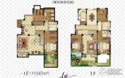 金浦御龙湾6室3厅3卫138平方米户型图