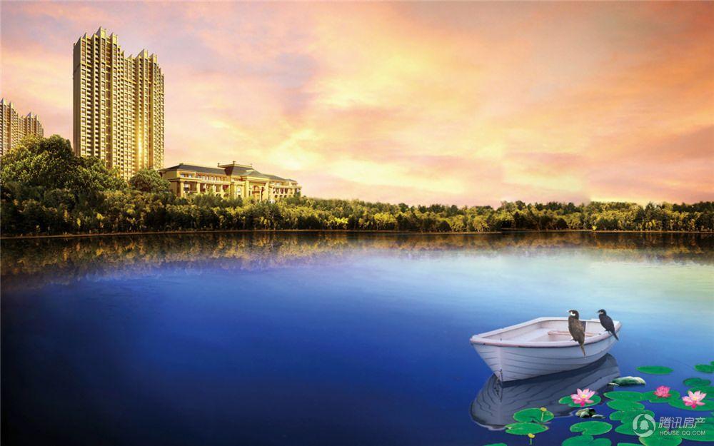 凤凰湖畔效果图