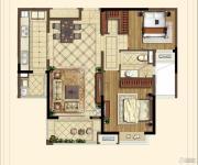 中海凤凰熙岸・玺荟2室2厅1卫102平方米户型图