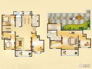 美力理想城5室2厅2卫0平方米户型图