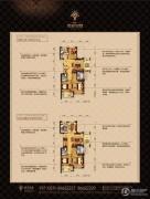 顺发吉祥半岛2室2厅2卫88平方米户型图