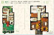 建新梧桐墅3室3厅3卫0平方米户型图