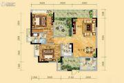 祥和御馨园二期2室2厅2卫102平方米户型图