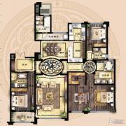 保利海德公馆4室2厅3卫262平方米户型图
