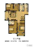 金润城4室2厅2卫142平方米户型图