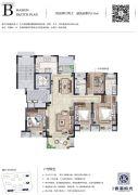 路劲香港时光4室2厅2卫135平方米户型图