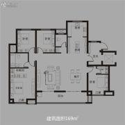东方今典・东方府4室2厅2卫169平方米户型图