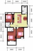 中天优诗美地3室2厅2卫134平方米户型图