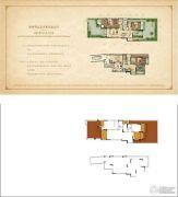 华宇天宫花城2室3厅4卫110平方米户型图