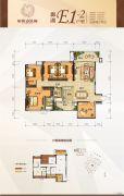 彰泰・欢乐颂5室2厅2卫129平方米户型图