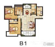 山畔景苑3室2厅2卫129平方米户型图