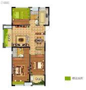 碧桂园仙林东郡3室2厅2卫123平方米户型图