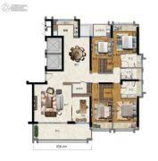 海�Z天翡5室2厅3卫229平方米户型图