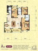 梦幻谷・�|方�A府3室2厅2卫139平方米户型图