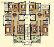 壹品湾4室2厅3卫152--163平方米户型图
