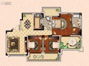 南昌恒大御景(原恒大帝景)3室2厅2卫131平方米户型图