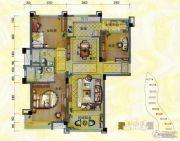 淄博碧桂园3室2厅2卫136平方米户型图