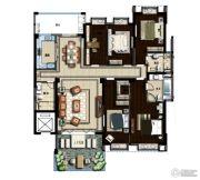 山海豪庭4室2厅3卫0平方米户型图