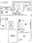 彩虹湾1室1厅1卫0平方米户型图