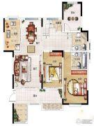 民安北郡4室2厅2卫170平方米户型图