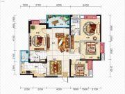 久安新坐标4室2厅2卫147平方米户型图