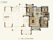 壹品湾4室2厅3卫144--151平方米户型图