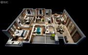 融信双杭城4室2厅2卫140平方米户型图