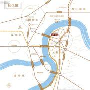 铂悦澜庭交通图