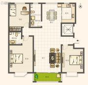 圣亚・绿溪园3室2厅2卫172平方米户型图