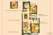 高成天鹅湖3室2厅1卫107平方米户型图