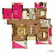 中大城5室2厅2卫178平方米户型图