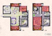 易居公馆6室2厅2卫135--142平方米户型图