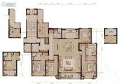 华侨城万科欢乐海岸5室2厅3卫210平方米户型图