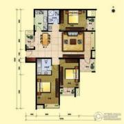 8哩岛3室2厅2卫132平方米户型图