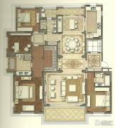 国宾1号4室3厅3卫245平方米户型图