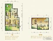 中冶・蓝湾3室2厅2卫0平方米户型图