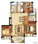 广宇・锦澜公寓3室2厅2卫89平方米户型图
