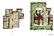 金地天境3室2厅3卫0平方米户型图
