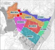 中国铁建国际花园交通图