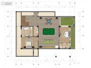 中交绿城高福小镇2室2厅2卫185平方米户型图