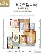 蓝城印象4室2厅2卫141--171平方米户型图