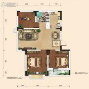 融城7英里3室2厅1卫89平方米户型图